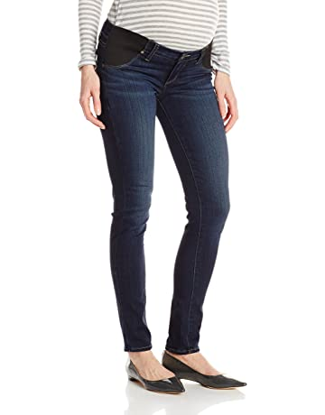 4dc2807241388 PAIGE Women's Maternity Verdugo Ultra Skinny with Elastic Insets in  Nottingham