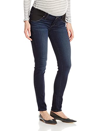 0a5c444ac8f9e PAIGE Women's Maternity Verdugo Ultra Skinny with Elastic Insets in  Nottingham at Amazon Women's Clothing store: