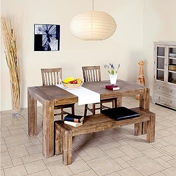 Esstisch Wohnzimmertisch Tisch Massivholz 200x100 Cm Massivholztisch