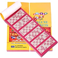 MATZO Deluxe Housie Tambola Tickets (Multicolour) - Set of 1800