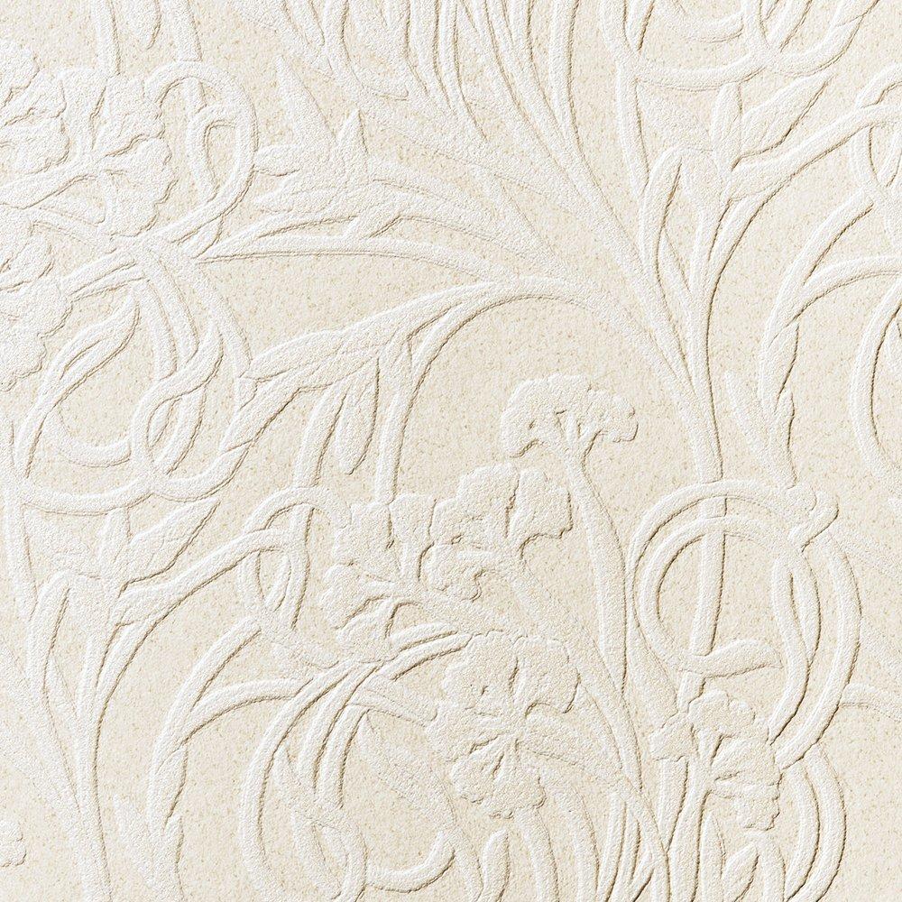 ルノン 壁紙32m フェミニン 花柄 グレー デザインパターン RH-9408 B01HU32TQW 32m|グレー