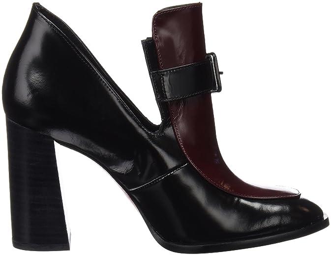 CUPLÉ Mocasin COPE Abrasivato Negro, Mujer, 40 EU: Amazon.es: Zapatos y complementos