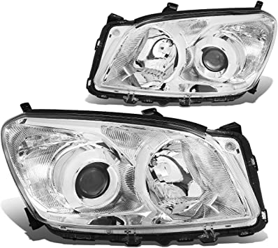 Driver /& Passenger Side DNA Motoring HL-OH-THI11-CH-CL1 Projector Headlight