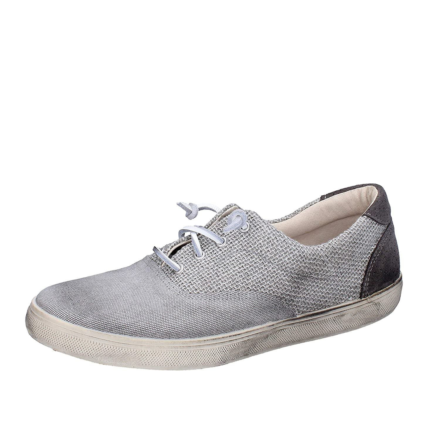 BEVERLY HILLS POLO CLUB Sneakers Hombre Lona Gris 42 EU: Amazon.es ...