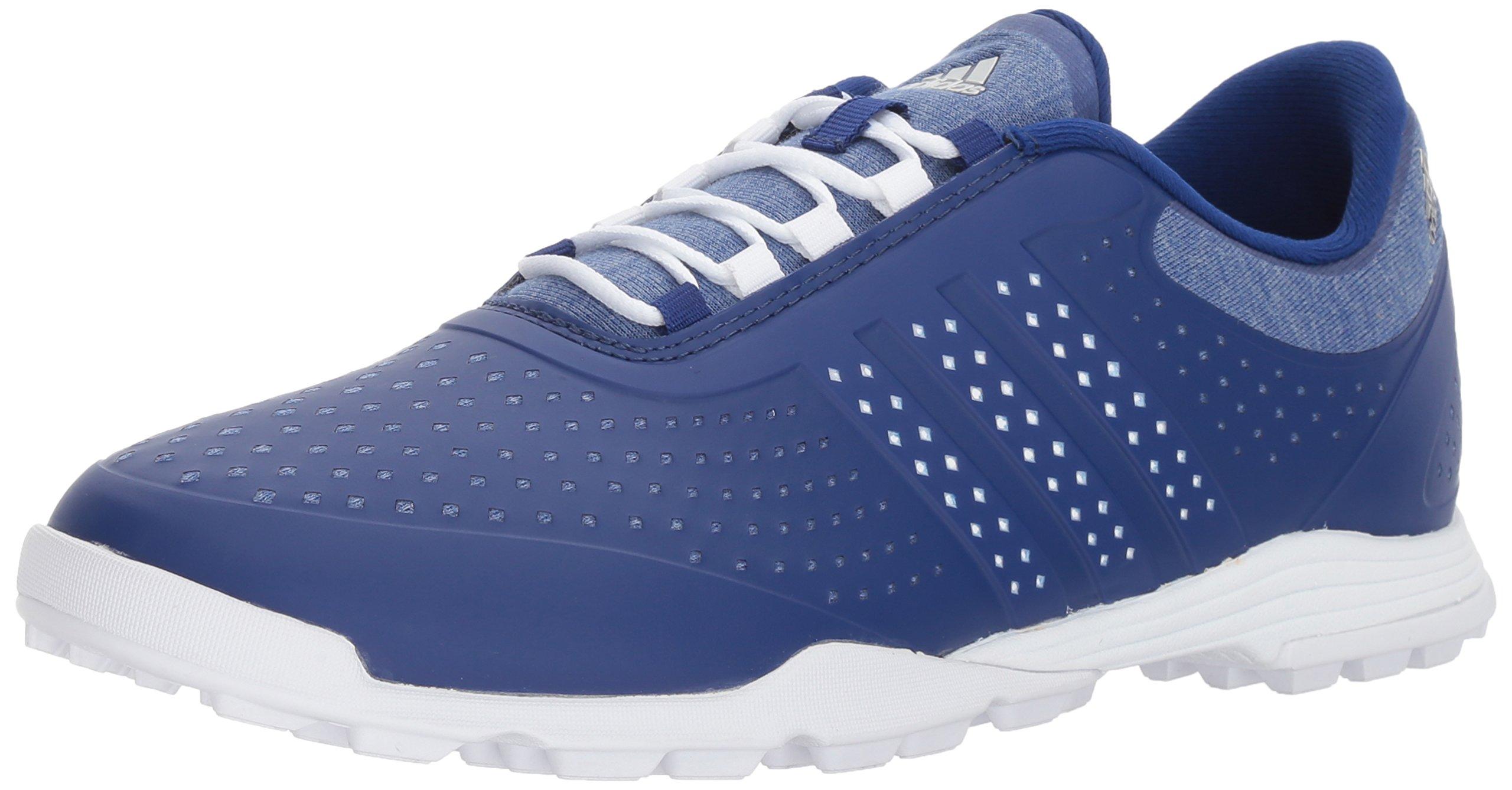 adidas Golf Women's W Adipure Sport Golf-Shoes, Mystery Ink Ftwr White/Ftwr White, 5.5 M US