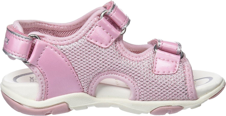 Lt Pink Pink Geox Baby M/ädchen B AGASIM Girl A Sandalen 22 EU