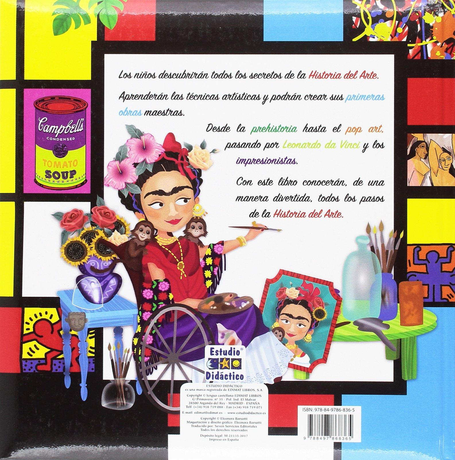 HISTORIA DEL ARTE PARA NIÑOS: Amazon.es: BARSOTTI, ELEONORA, SEVEN SERVICIOS EDITORIALES: Libros