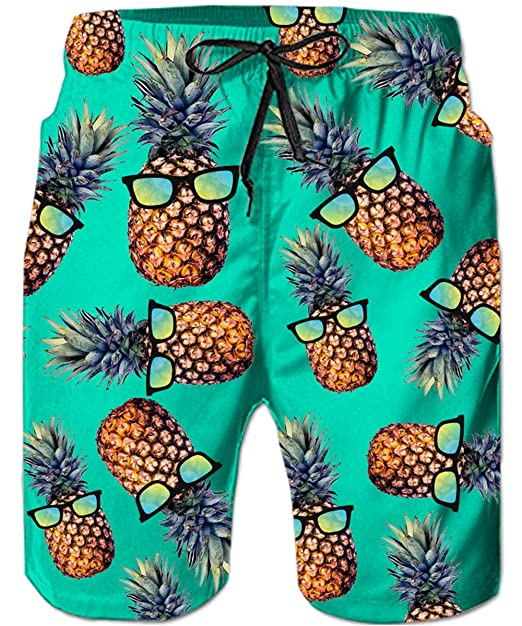 ce8b21272c9ba3 TUONROAD Mens Swimming Trunks 3D Print Pineapple Cat Shark Funny Pattern  Swim Shorts Quick Drying Holiday Beach Shorts Lightweight Swimwear Surf  Board ...