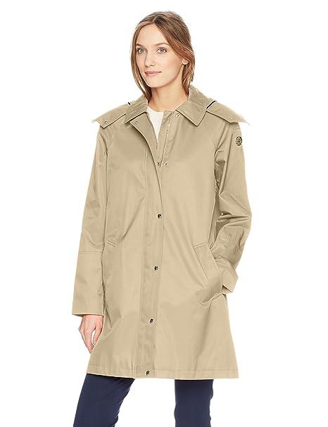 Amazon.com: Tommy Hilfiger - Abrigo con capucha para mujer ...