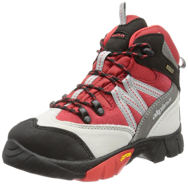 Alpina enfant 680245, Chaussures de randonnée mixte enfant Alpina 32 EU|Rouge 4aeb2f