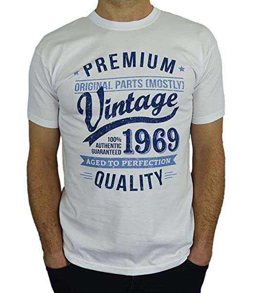 1969 Vintage Year Aged To Perfection Regalo Di Compleanno Per 50