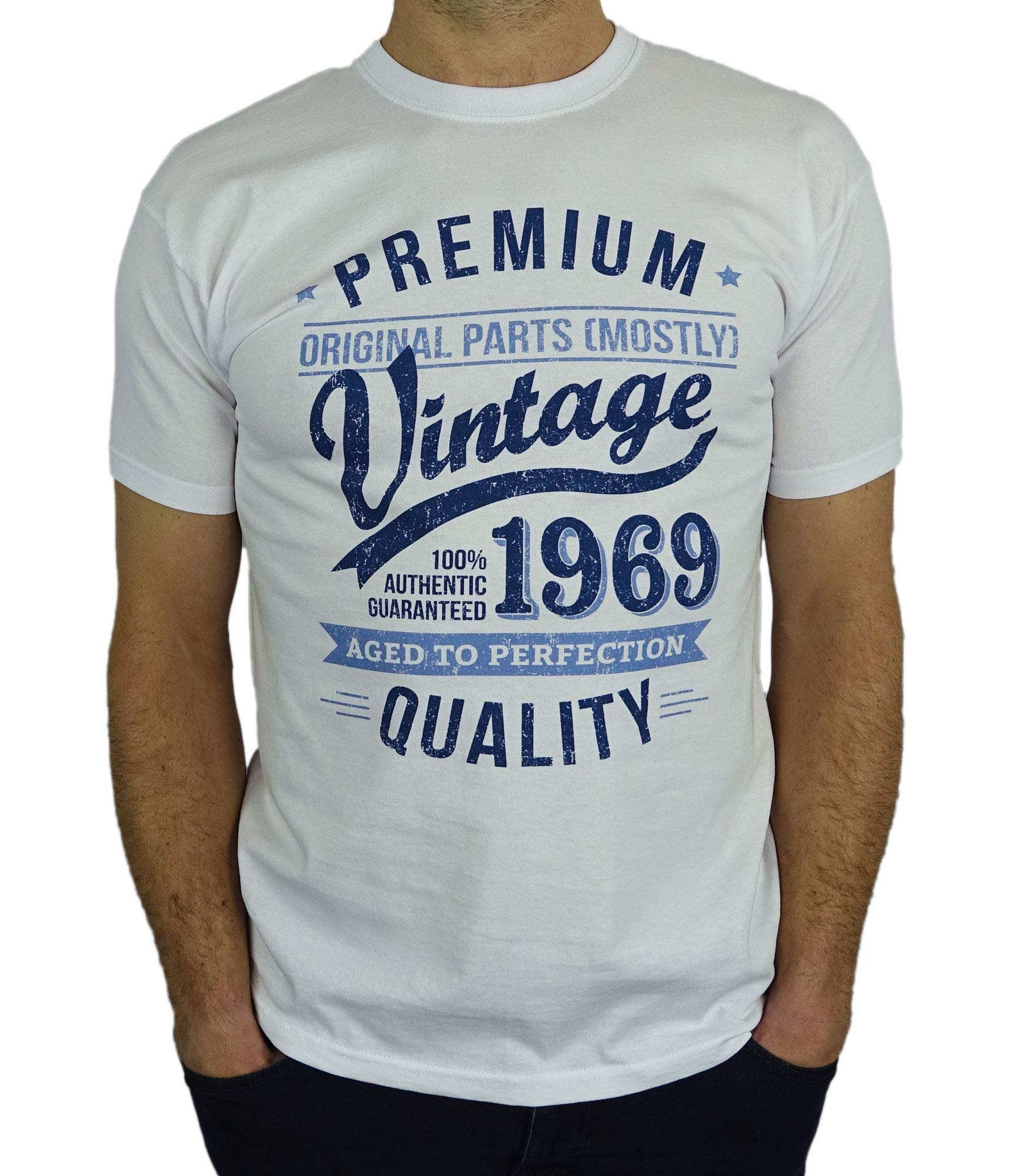 1970 Vintage Year Aged To Perfection 50th Birthday Gift Present Mens T Shirt Buy Online In Gibraltar At Desertcart