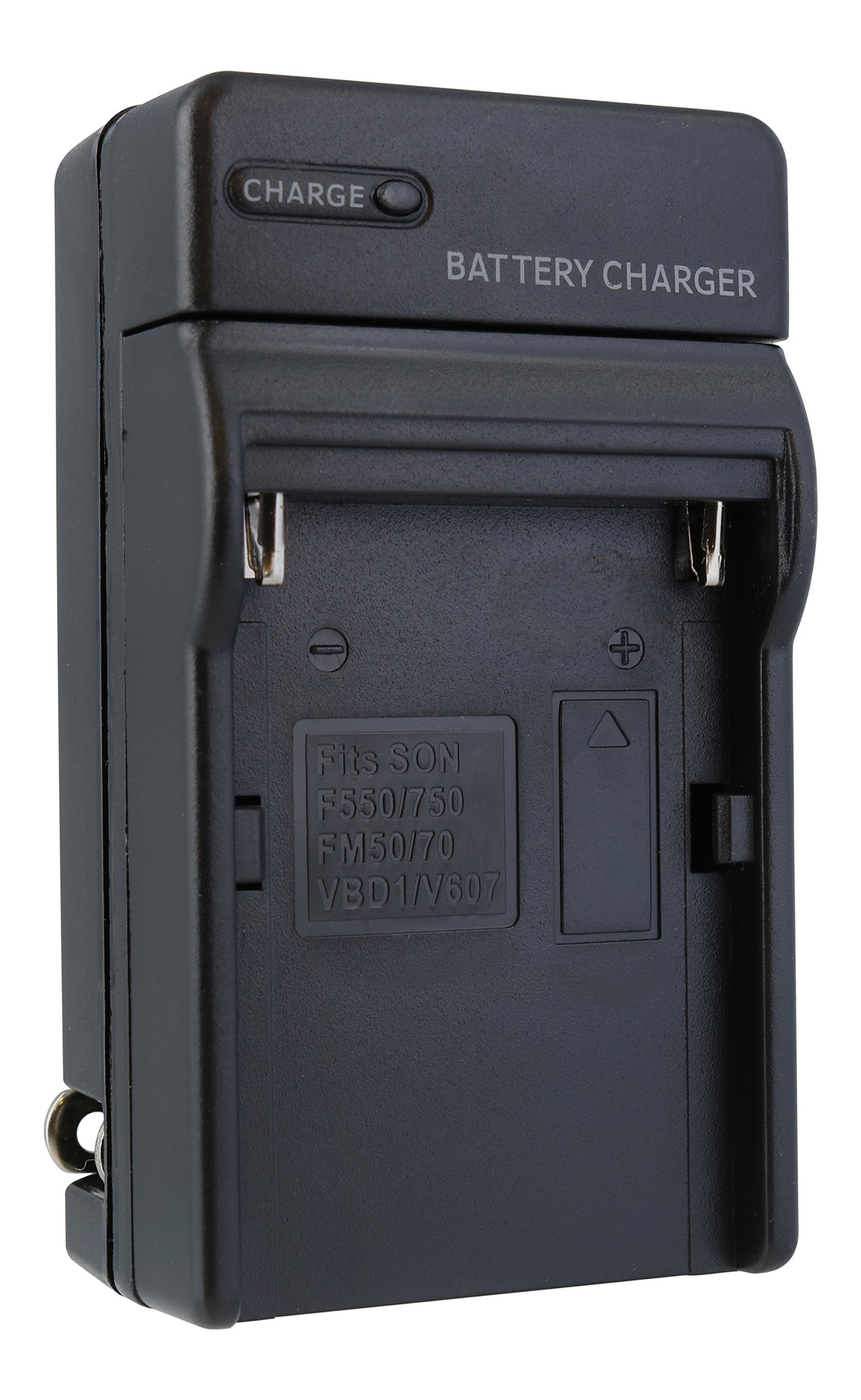 TechFuel Battery Charger Kit for Sony Cyber-shot DSC-S85 Camera - For Home, Car and Travel Use