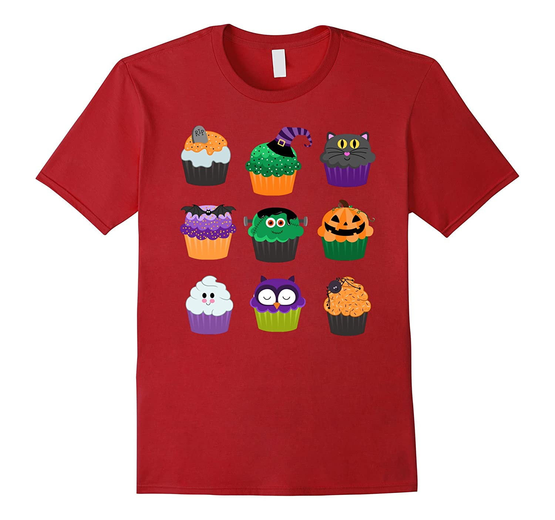 Funny Halloween Shirts - Yummy Halloween Cupcakes T-Shirt-T-Shirt