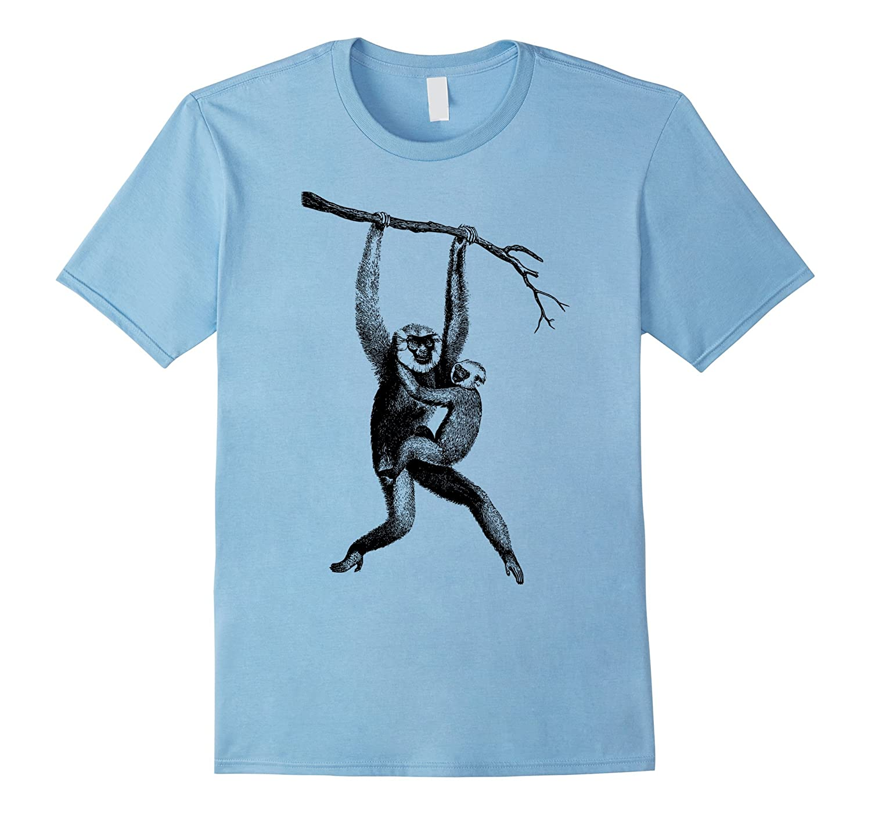 Monkey Art T-shirt Men Women Kids Boys Girls Tamarin Night-Vaci