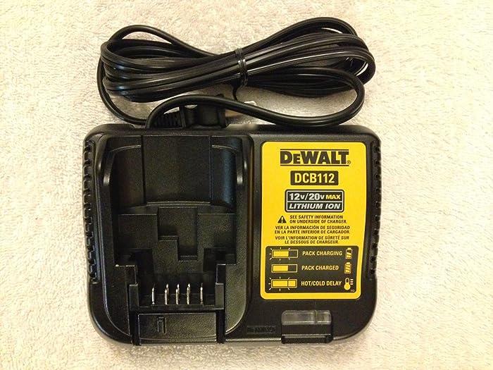 New Dewalt DCB112 12V & 20V Max Li-ion Battery Charger replaces DCB100 & DCB107 ;(supply#: swordg__JENT26111882350869