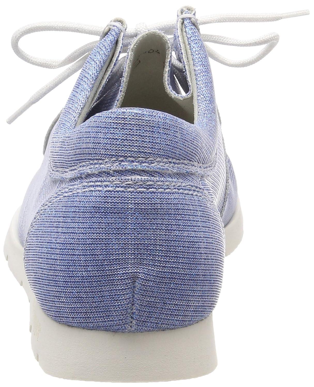 Sioux Damen Blau Grash-d172-29 Sneaker, Blau Damen (Jeans-silver) bd7b01