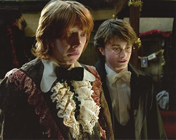 Harry Potter And The Goblet Of Fire Daniel Radcliffe Rupert Grint
