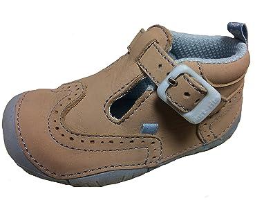 Start-rite Harry Stone Nubuck Leather Boys First Shoe F 3