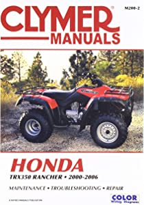 Clymer Service Manual for 00-06 Honda TRX350R4X4