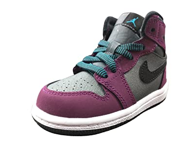 Jordan 1 Retro High Mulberry/ Blue Lagoon-Dark Gray-Black (TD)