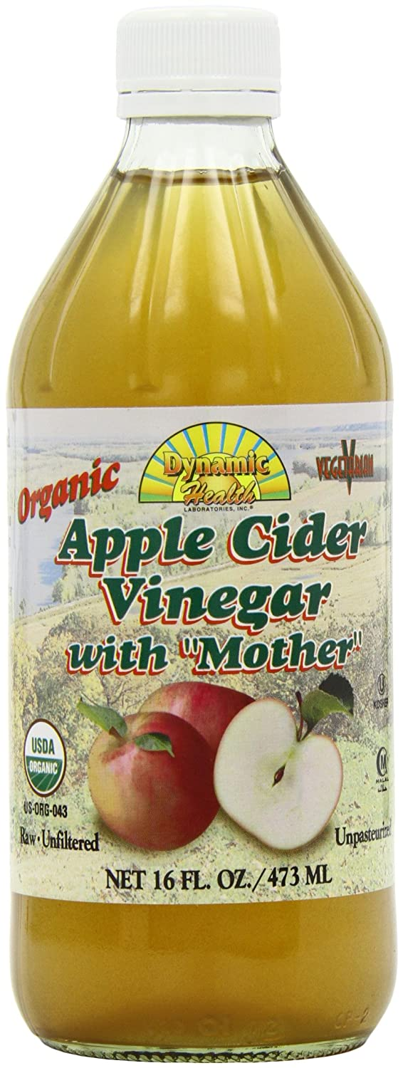 Dynamic Health 473ml Organic Apple Cider Vinegar With Mother Pack Bragg 473 Ml Of 2 Personal Care