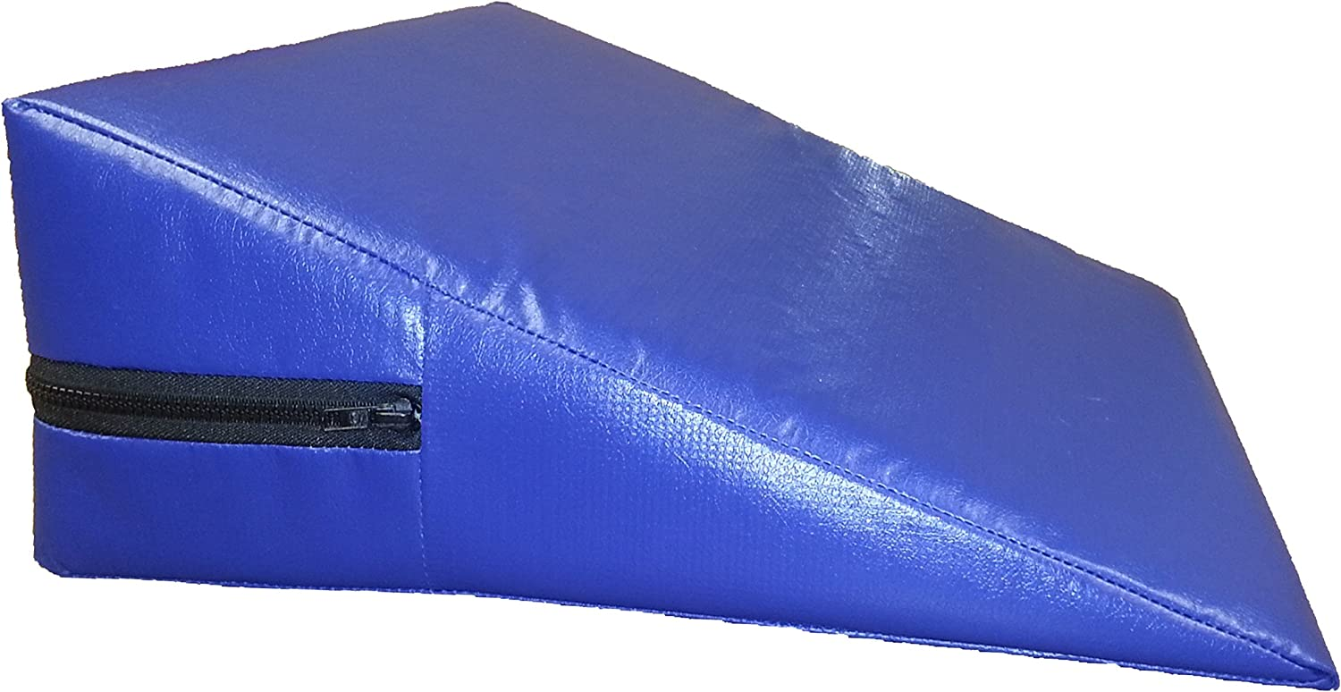 """Bed Wedge Pillow Foam 7/""""h x 24/""""w  includes Cover NEW"""