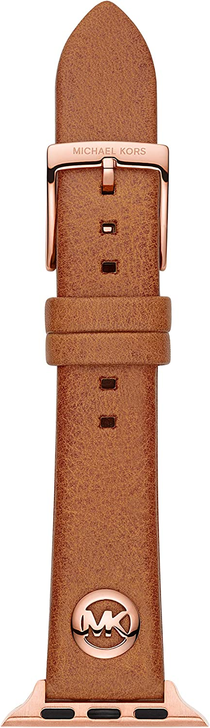 Michael Kors Women's Interchangeable Watch Band Compatible with Your 38/40mm Apple Watch- Straps for use with Apple Watch Series 1,2,3,4,5
