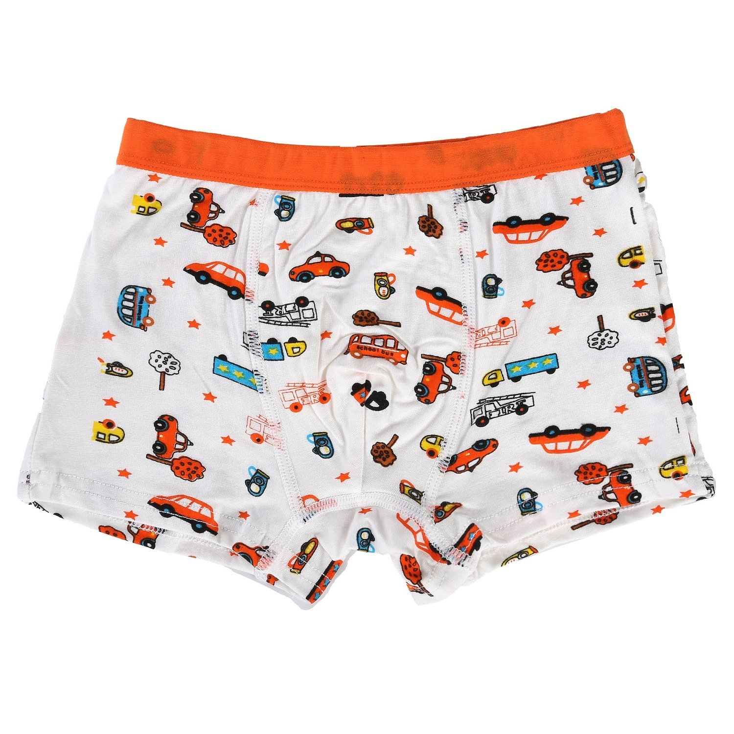Bala Bala Boy's Boxer Brief Multicolor Underwear (Pack Of 5) (XL/Car Underwear, (Pack Of 5)/Car Underwear) by Bala Bala (Image #5)