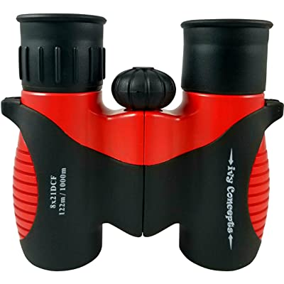 Binoculars for Kids by ivy Concepts - 8X21 Compact Shockproof REAL Binoculars - Best for Bird Watching - Game Hunting Sport - Hiking - Educational Outdoor Fun - Boys and Girls Gift Toys - USA SELLER