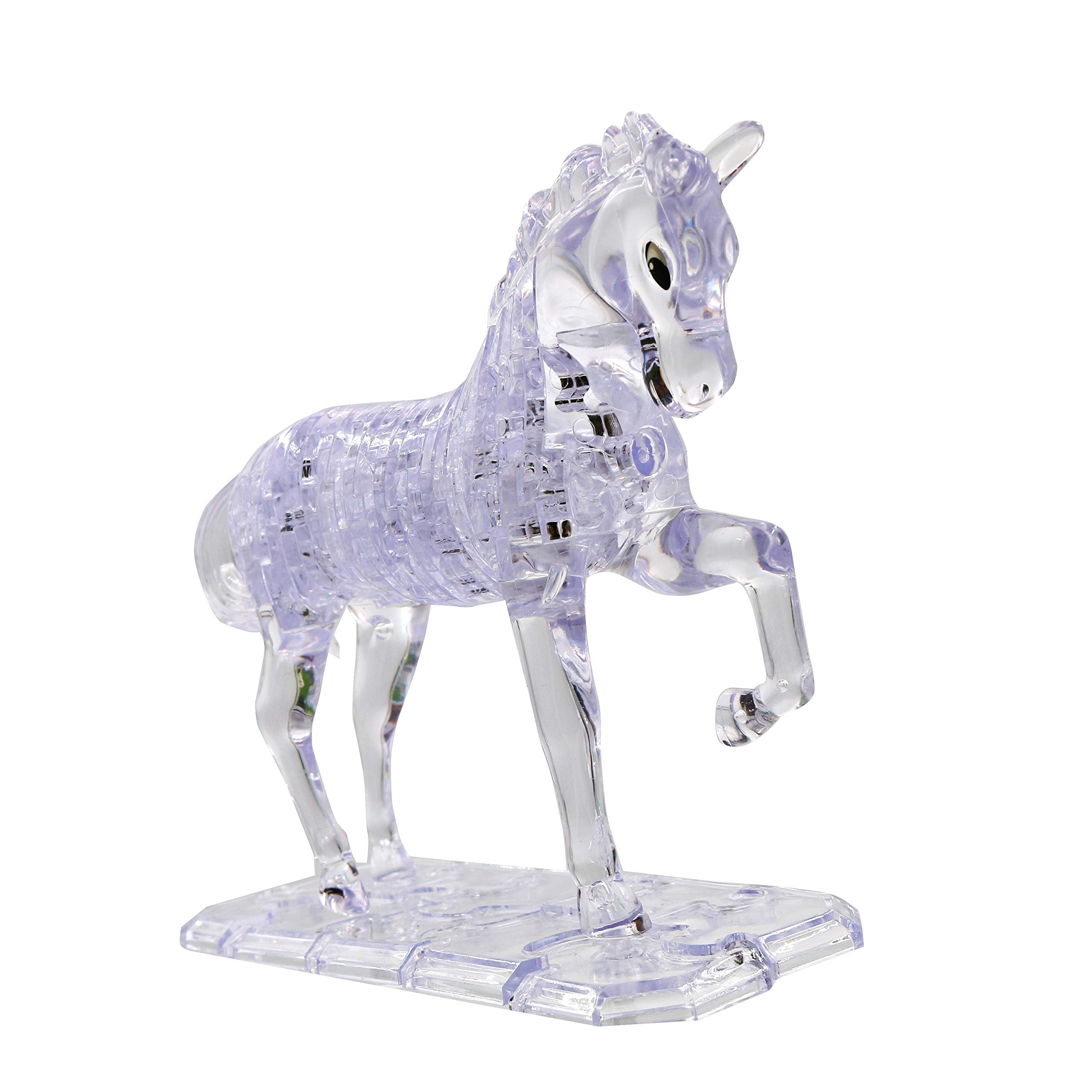 39 Thermolove 3D Decoration Model Toy Crystal Puzzle Game Toy Horse/Beast/Unicorn/Sky Horse-Transparent