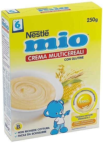 mio crème multicéréales 250 g
