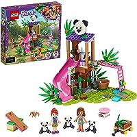 LEGO 41422 Friends Panda Jungle boomhut Set met Olivia, Speelgoed Dieren met Mini Poppetjes voor Meisjes en Jongens…