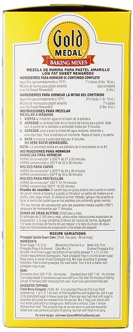 Amazon.com : Sweet Rewards Low Fat Yellow Cake Mix, 5-Pound : Grocery & Gourmet Food