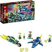 LEGO Ninjago 71709 Jay and Lloyd's Velocity Racers Building Kit (322 Pieces)