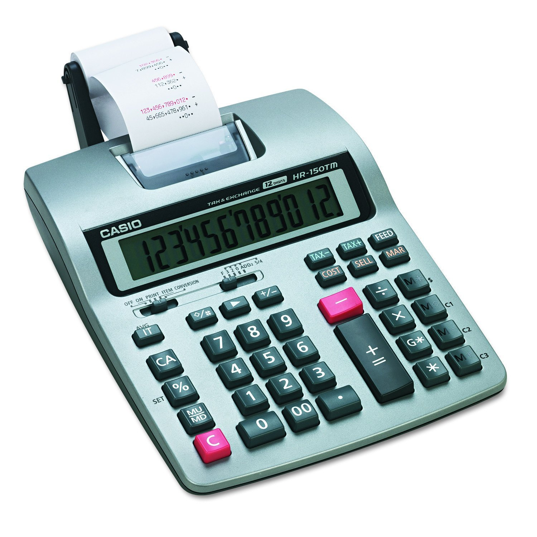 Casio HR-150TMPlus Business Calculator (Renewed) by Casio
