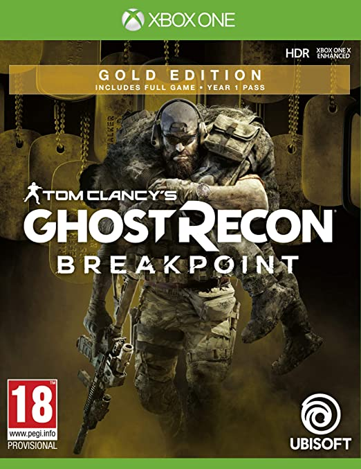 Tom Clancys Ghost Recon Breakpoint Gold Edition - Xbox One ...