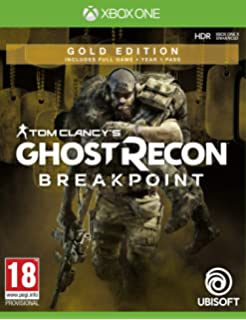 Amazon.com: Tom Clancys Ghost Recon Breakpoint Steelbook ...
