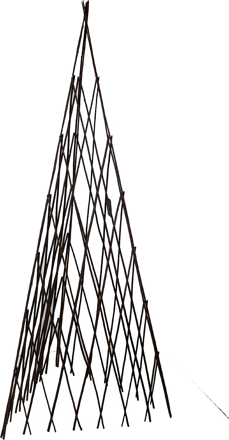 Master Garden Products Willow Expandable Teepee, 14 by 72-Inch