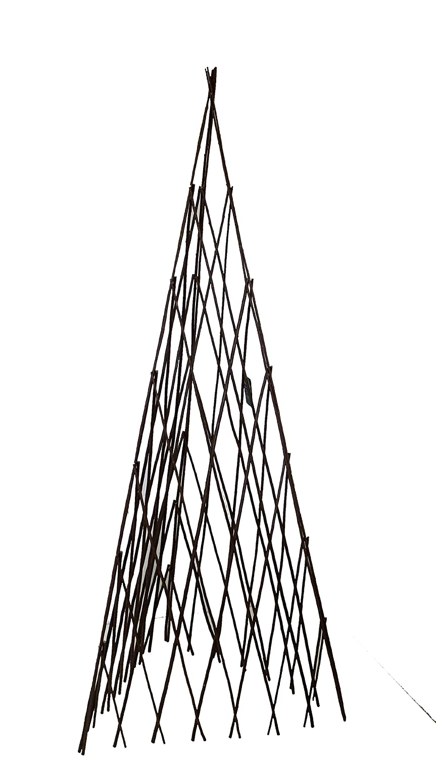 Lovely Amazon.com : Master Garden Products Willow Expandable Teepee, 12 By 40 Inch  : Outdoor Decor : Patio, Lawn U0026 Garden