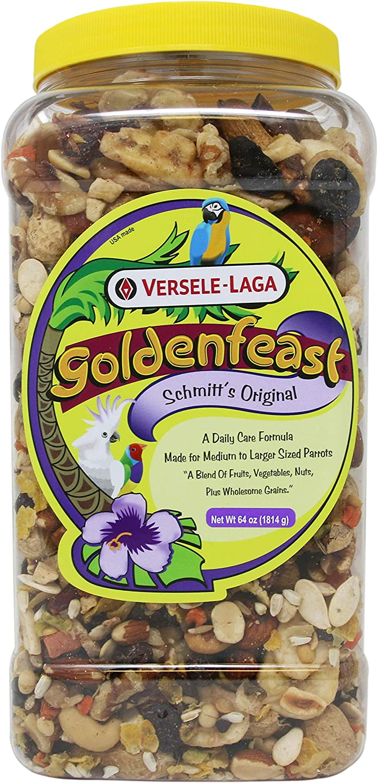Goldenfeast Schmitt Original Fruit N Nut Parrot Food 64oz Bird Food