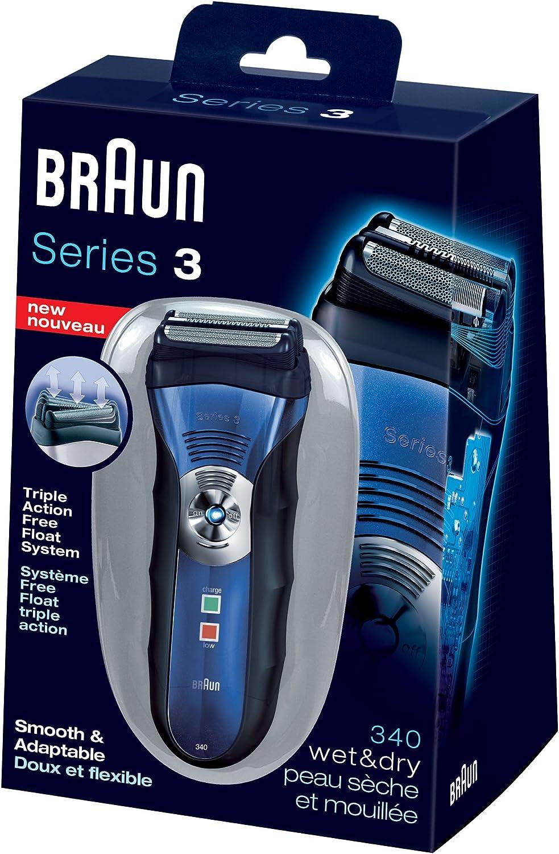 Braun Series 3 340 Wet & Dry Mens Shaver by Braun: Amazon.es ...