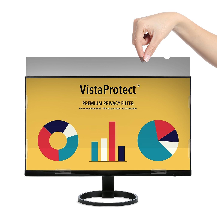 """VistaProtect – Filtro Privacy Premium, Pellicola de Protezione per Monitor e Schermo di Computer PC (20.1"""" Pollici) VISTA201M"""