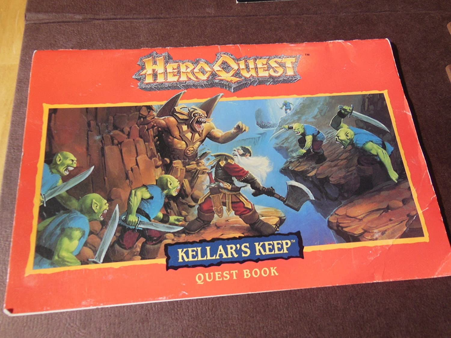 Heroquest Quest Pack Kellars Keep by Milton Bradley: Amazon.es ...
