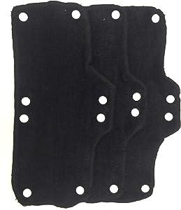 Black Sweatband For Hard Hat Washable Velvet Terry cotton Hard Hat Liner NAEE snap on (3)