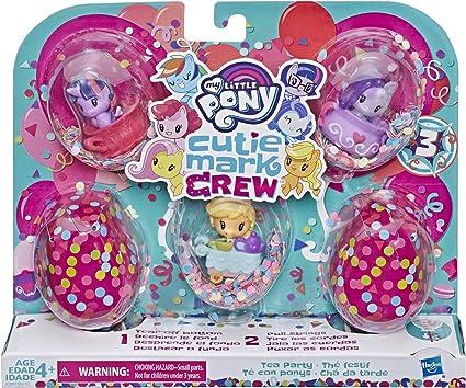 My Little Pony - MLP Cutie Mark Crew Confeti Surprise Pack de 5 goteros Festif, E3897ES0,: Amazon.es: Juguetes y juegos