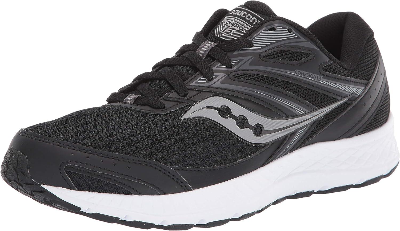 Zapatillas de Atletismo Unisex Ni/ños Saucony S-Cohesion 13 A//C Blue//Grey//Red