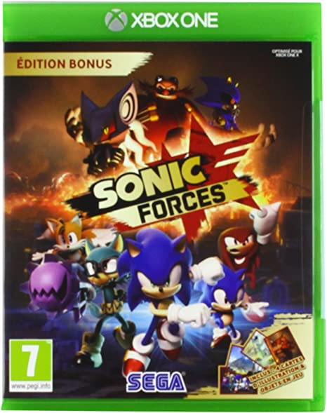 Sonic Forces - Bonus Edition - Xbox One [Importación francesa]: Amazon.es: Electrónica