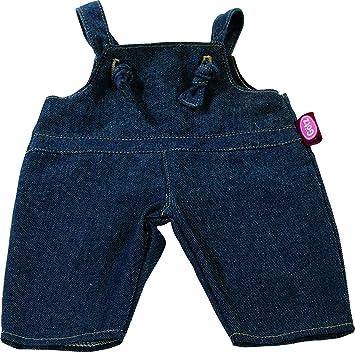 G/ötz 3402482 Salopette in Denim per Bambole Beb/è Abbigliamento Misura S per Bambole Alte 30-33 cm