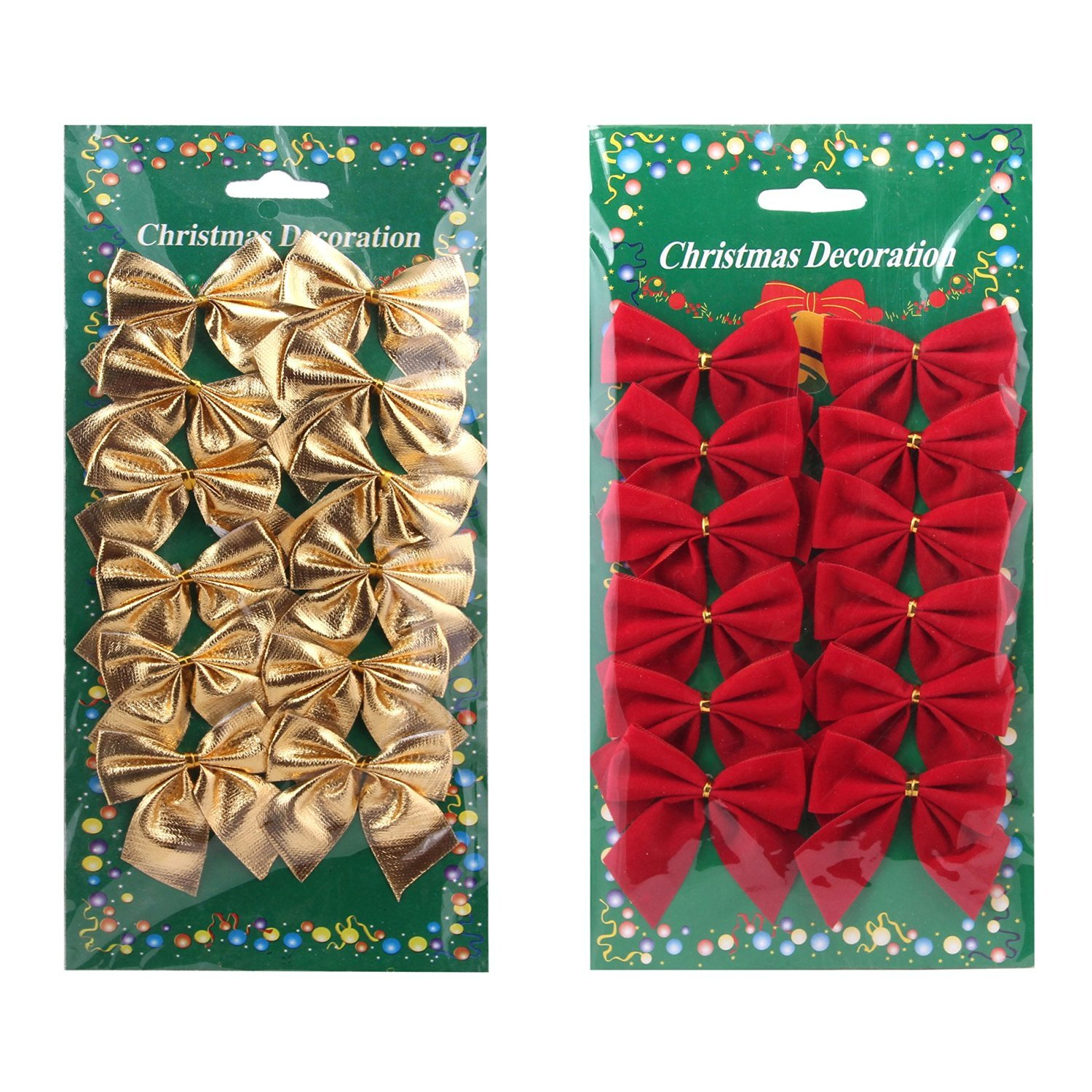 KELER Christmas Decorations Christmas Ribbon Bows
